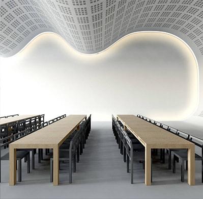 An image of Heartland Companies Wall Panels & Ceilings work