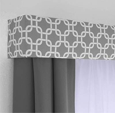 Image of Cornice Boards & Valances work done by Heartland Company