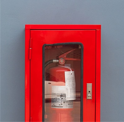 Image example of Heartland Companies Fire Extinguisher Cabinets