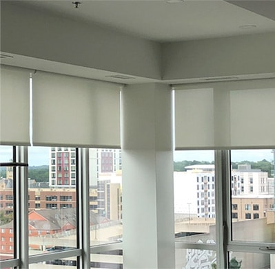 Image of window shades done by Heartland Companies