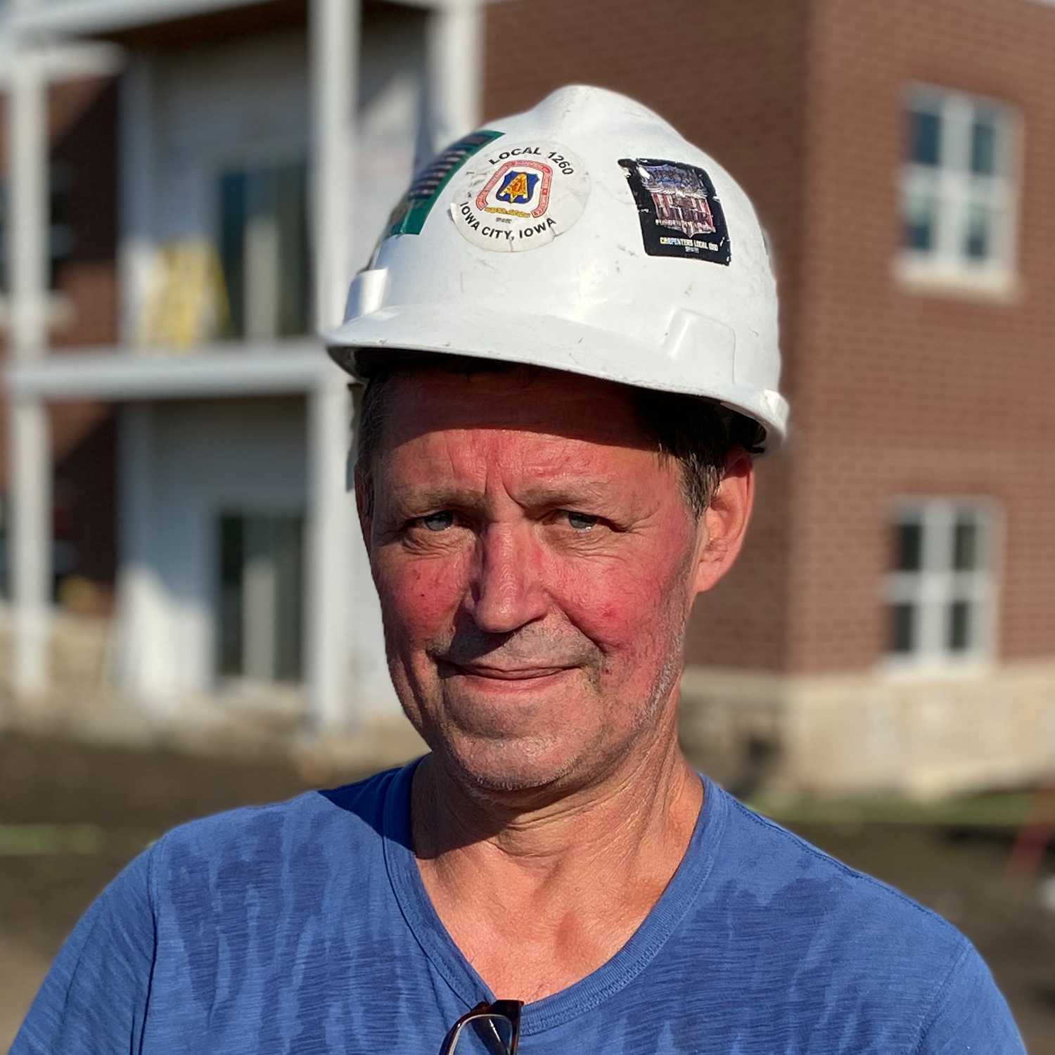 Image of Brad Anderson, Carpentry Foreman for Heartland Companies